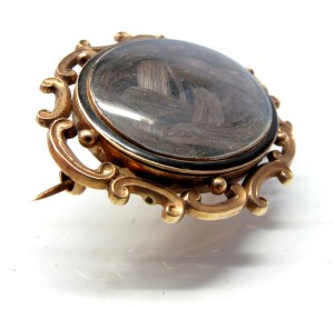 Mourning Brooch