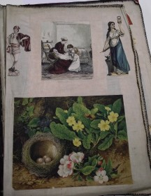 Wrigley Sisters Scrapbook page 12