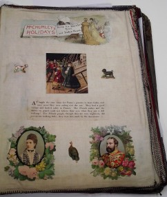 Wrigley Sisters Scrapbook page 72